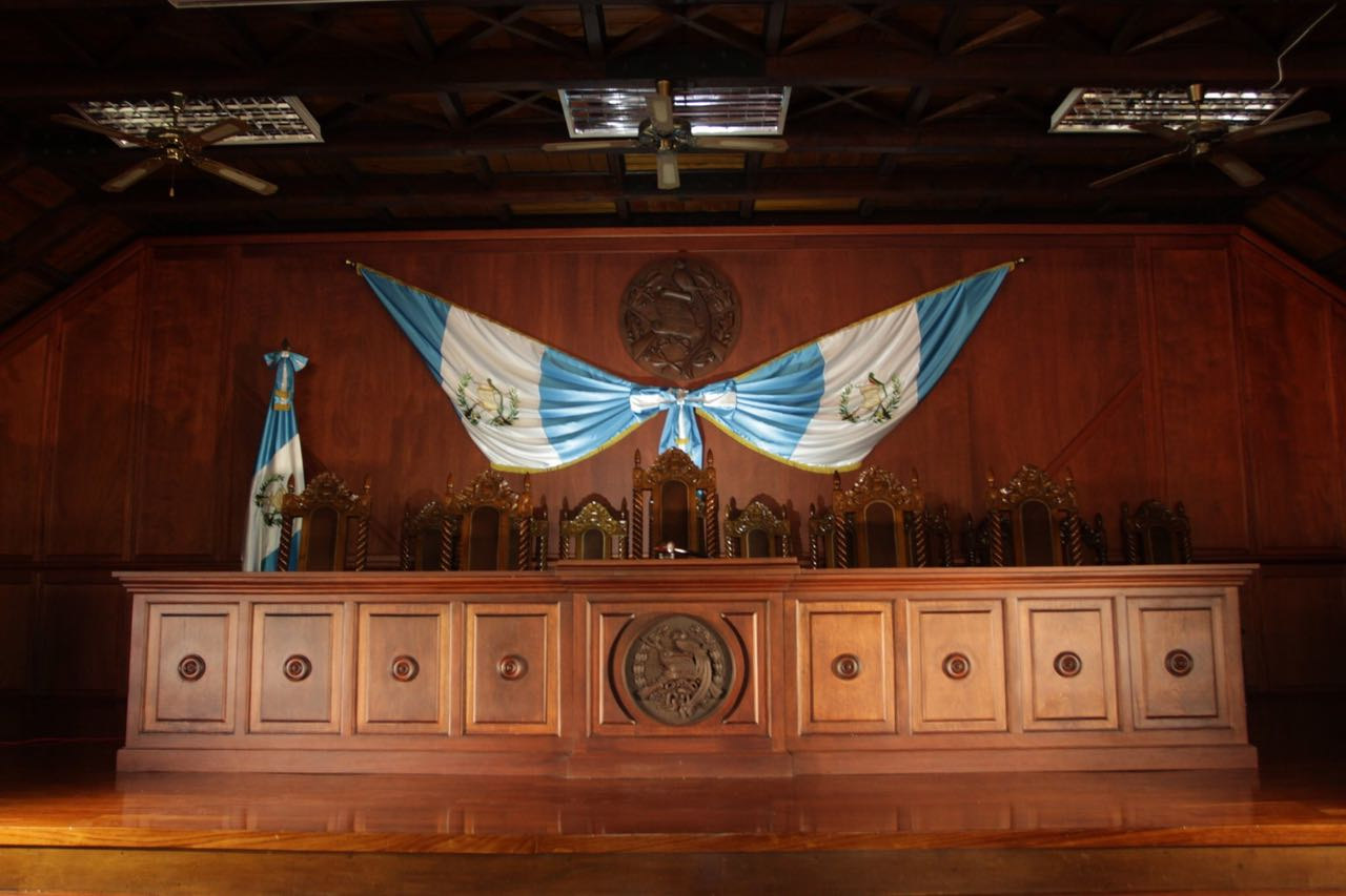 cc , corte de constitucionalidad, fachada , interior