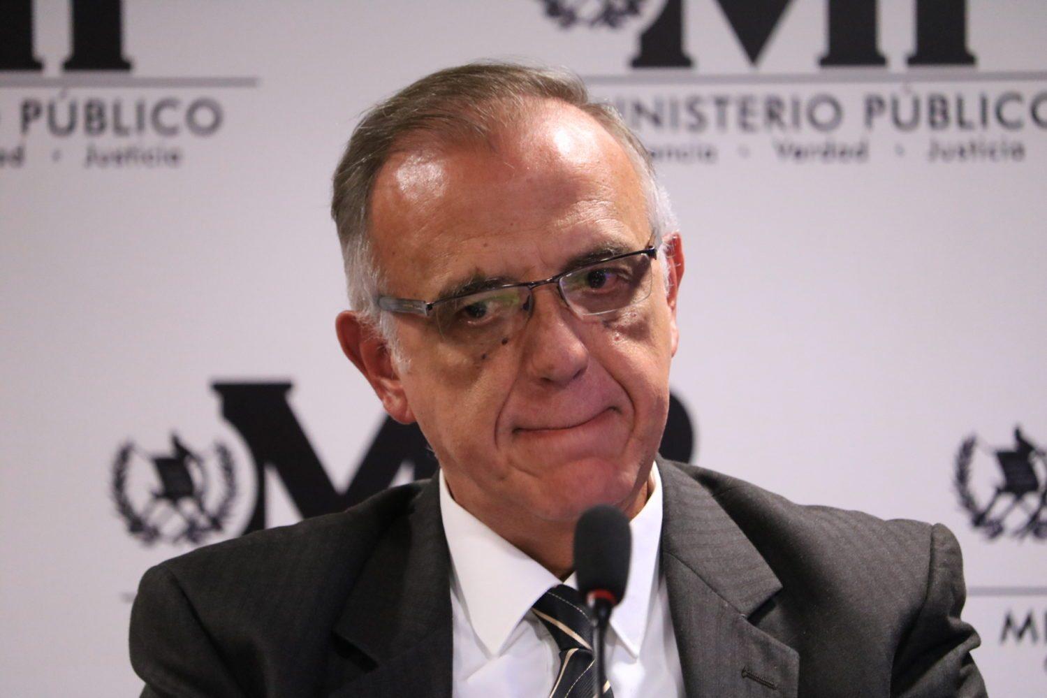 Ivan Velázquez , cicig, conferencia , MP,