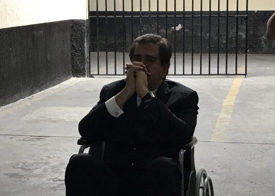 alejos, exsecretario, une, audiencia, tribunales, capturado