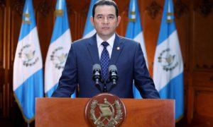 Mensaje a la nación-presidente- Jimmy Morales