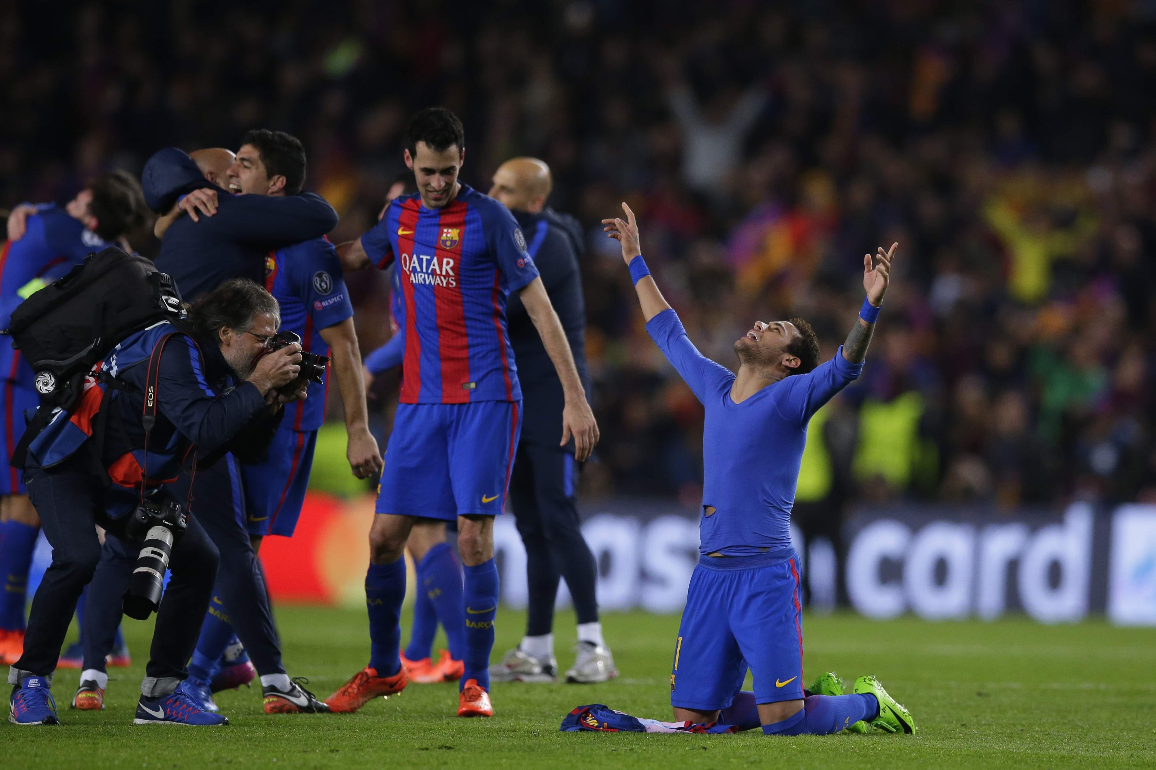 Barcelona logra remontada de escándalo al golear al PSG ...