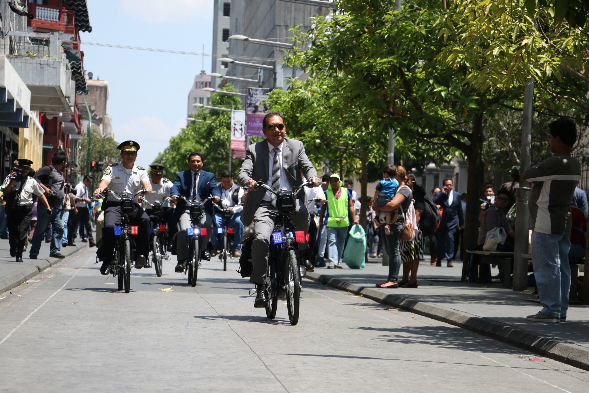 Ministerio de gobernaci n recibe donaci n de bicicletas for Ministerio de gobernacion