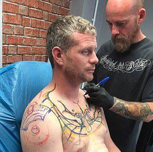 Tatuaje-camionero-Kenny-Ollerenshaw-inglaterra