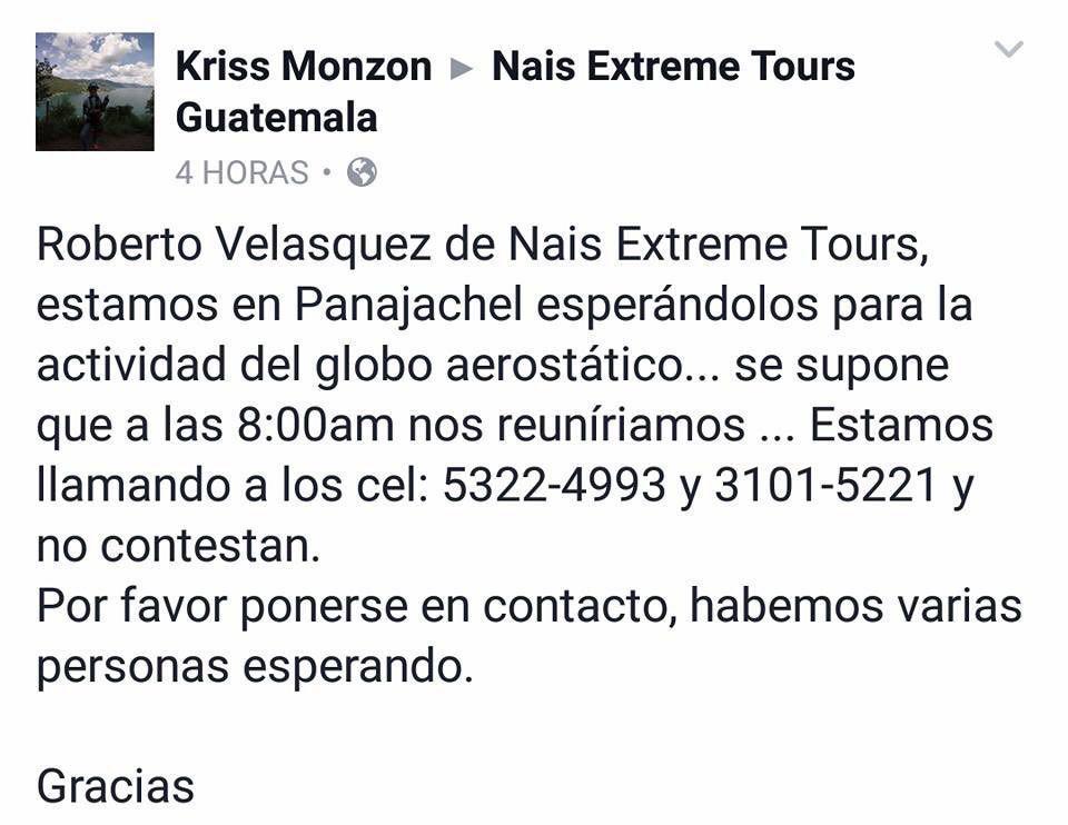 Nais-Extreme-Tours-estafa-globo-esrostatico