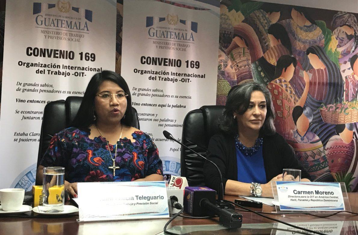 Ministra de trabajo da declaraciones sobre convenio 169