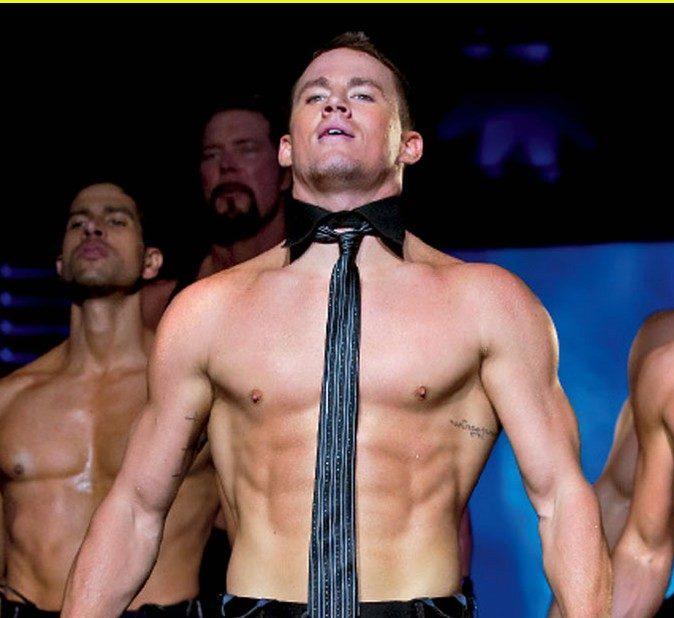 Channing Tatum, stripper, real