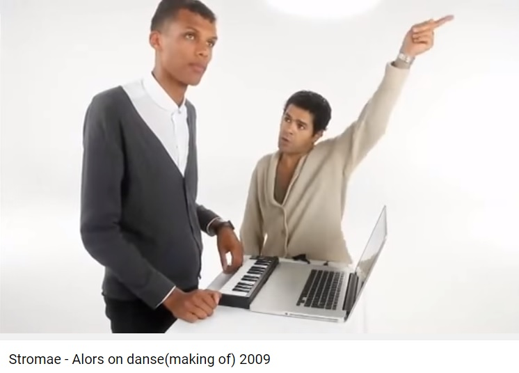 Jamel Debbouze-stromae-alors-on danse-making-off