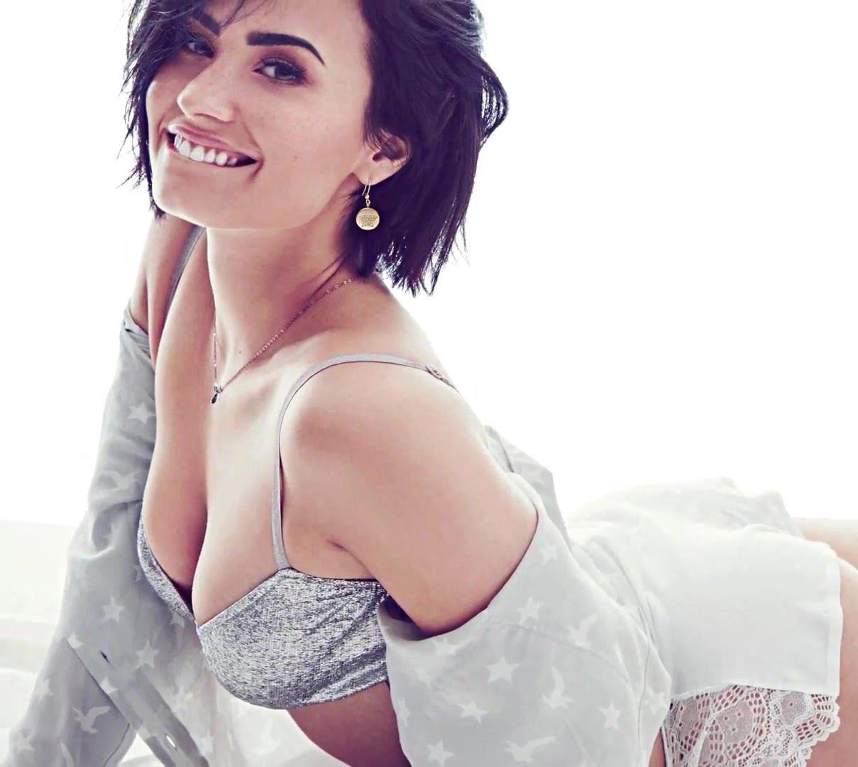 Demi Lovato Enloquece Las Redes Sociales Con Sexis