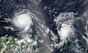 huracán osé, Irma, Katia