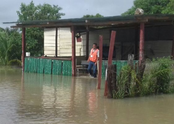 Lluvia, inundaciones Guatemala