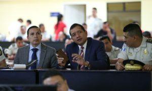 Ministro Francisco Rivas y viceministro Ricardo Guzmán, foto archivo