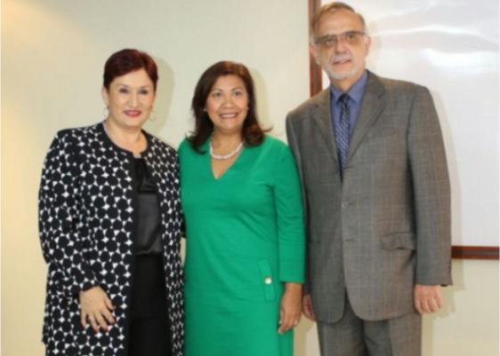 Norma Torres- Thelma Aldana- Iván Velásquez