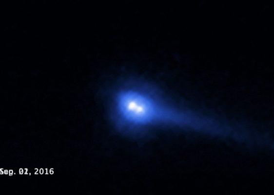 Hubble-nasa-asteroide 300163-asteroide VW139-Spacewatch