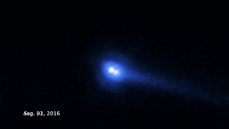 Hubble-nasa-asteroide 300163-asteroide VW139-Spacewatch