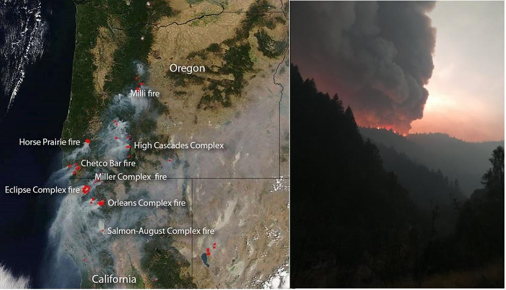 incendio, california