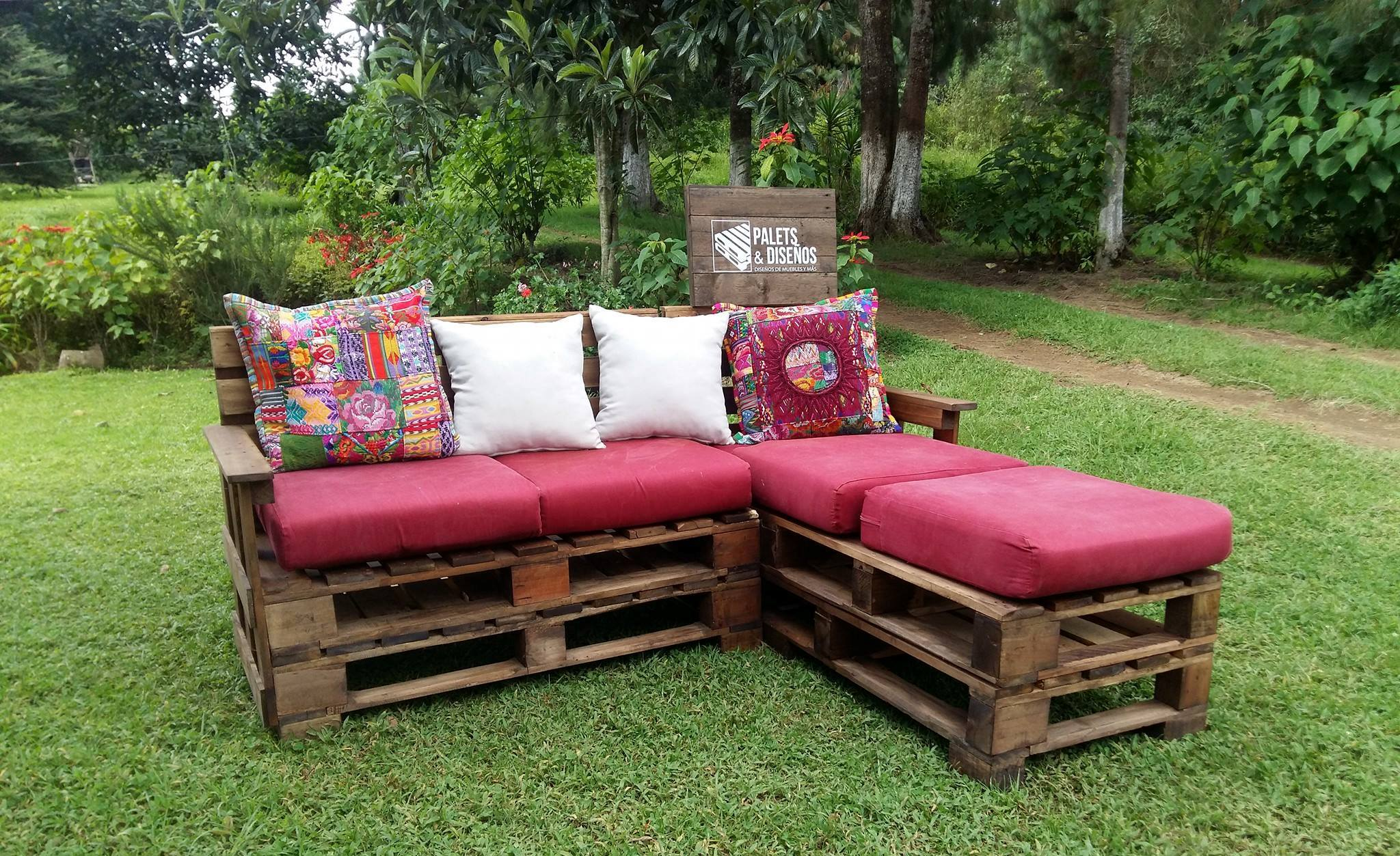 Muebles jardin palets best ideas para decoracion con for Muebles para terraza y jardin