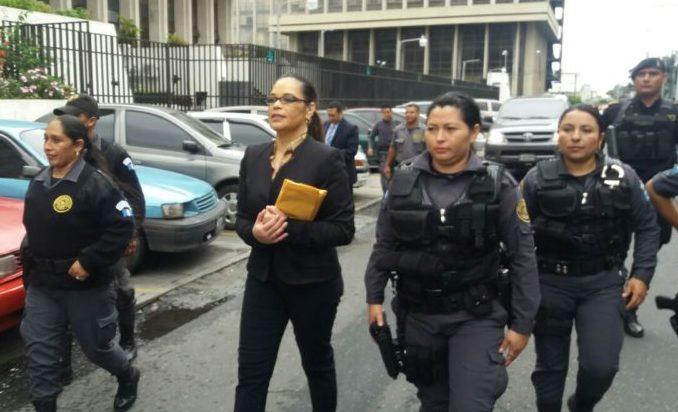 Exvicepresidenta de Guatemala, a prisión por corrupción