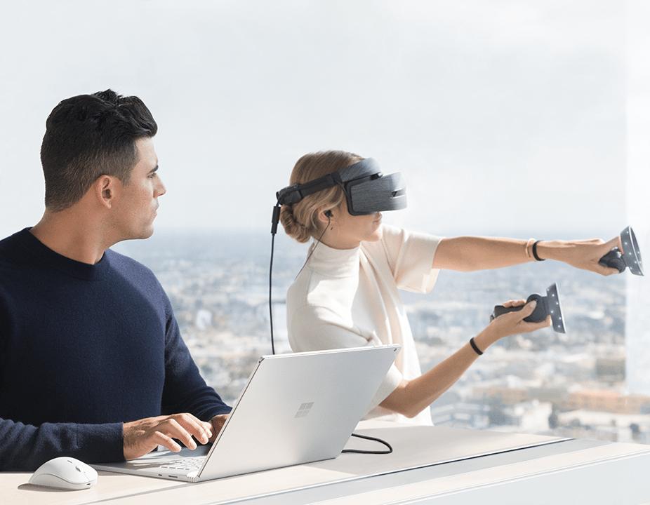 Windows 10 Fall Creators Update-Mixed Reality Headsets- Surface Book 2- Cortana-Microsoft Edge