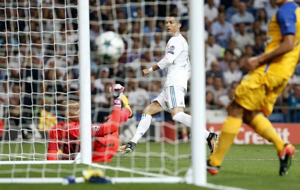 ae11f46f9ef0c Así fue el primer gol de Cristiano Ronaldo con la Juventus ...