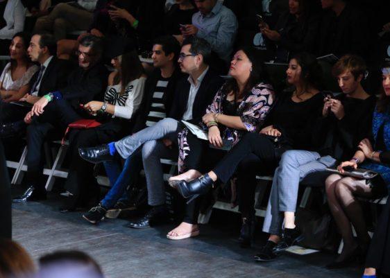 moda, front row, mbfgt, desfile de moda, runway, cultura, público