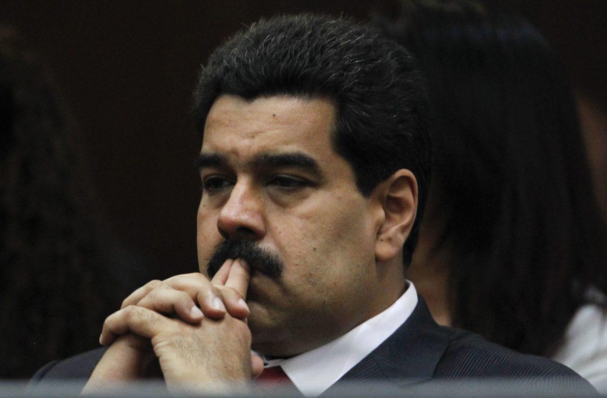 Venezuela-President-Nicolas Maduro