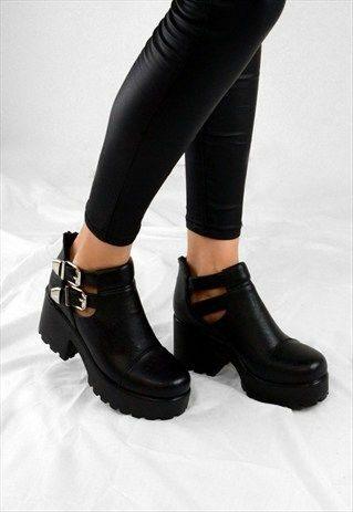 Botines, botines chunky, calzado, moda, estilo, invierno, diciembre