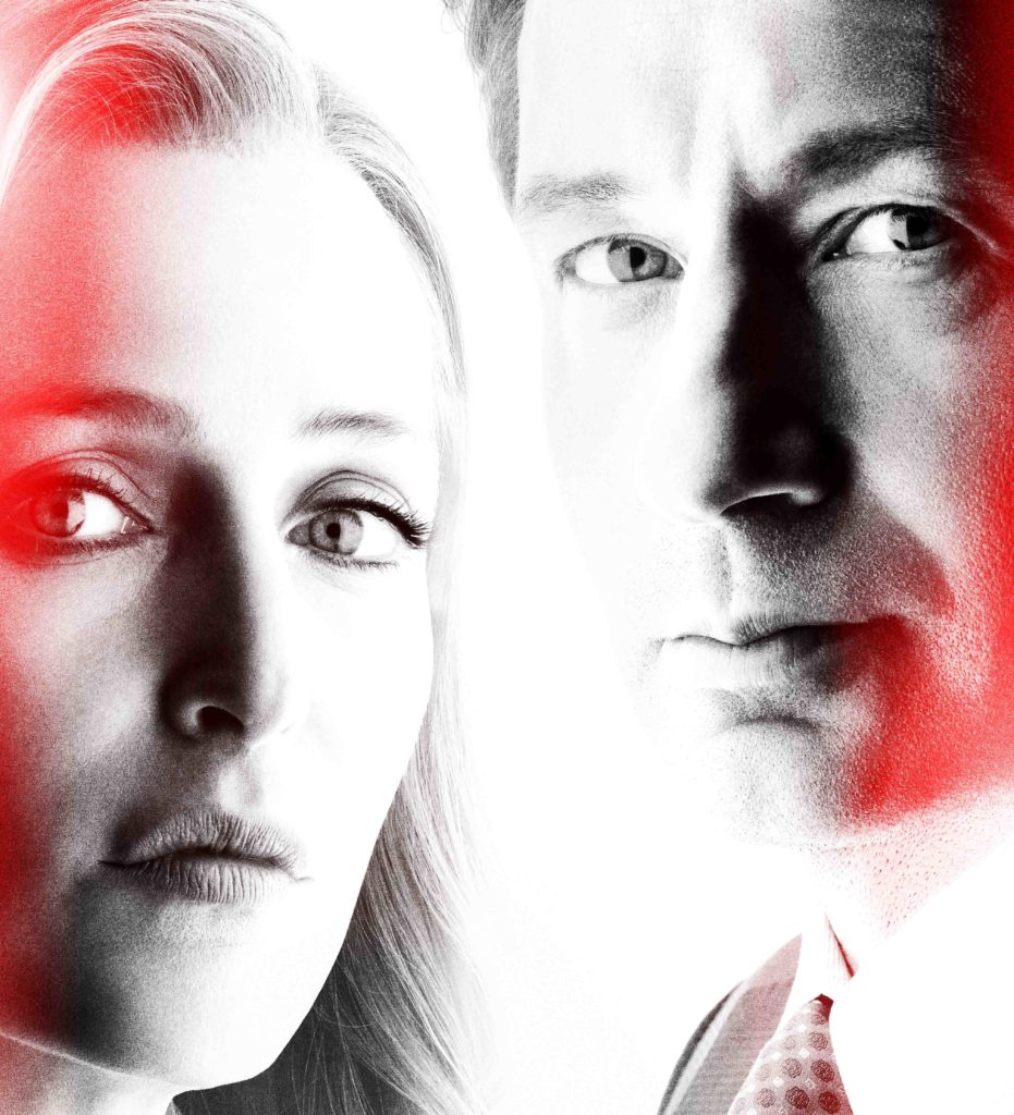 David Duchovny y Gillian Anderson en THE X FILES - Nueva Temporada en FOX