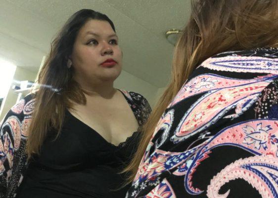 combinación, lencería, abuela, vintage, kimono, bata, Forever 21, sleepwear, plus size, espejo, look, tallas grandes
