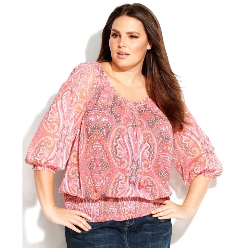 blusa, paisley, estampado, print, primavera, blusón, rosa, jeans, bohemia, chic, boho, bohemio,