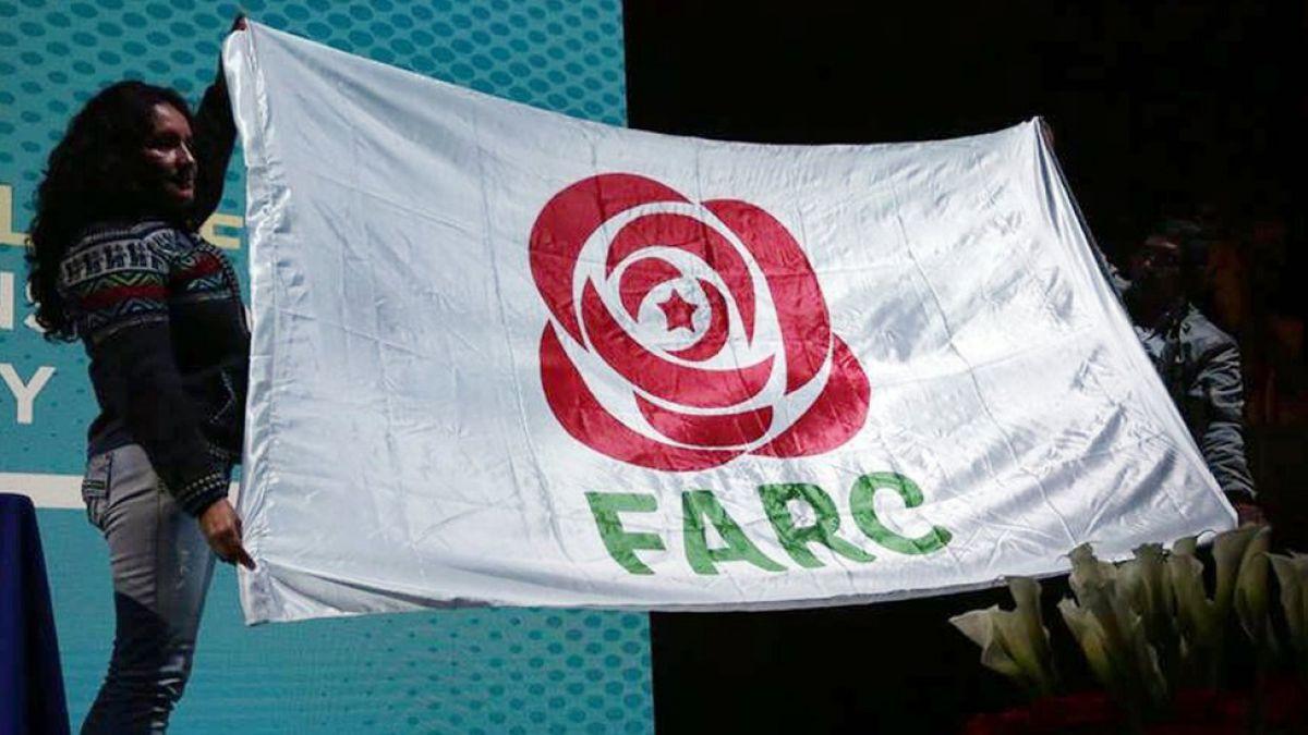 FARC cambió de logo y anidó en la política. Los colombianos siguen con un sabor agridulce que reflejaron en los comicios. Imagen: T13