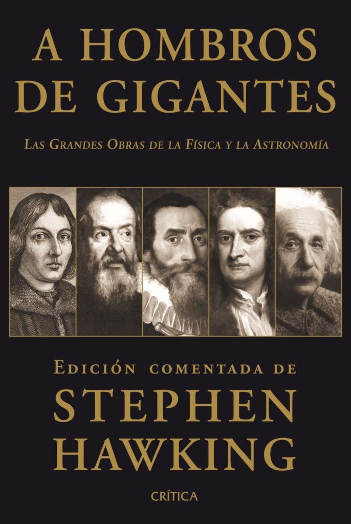 A hombros de gigantes, El gran diseño, stephen hawking, libro