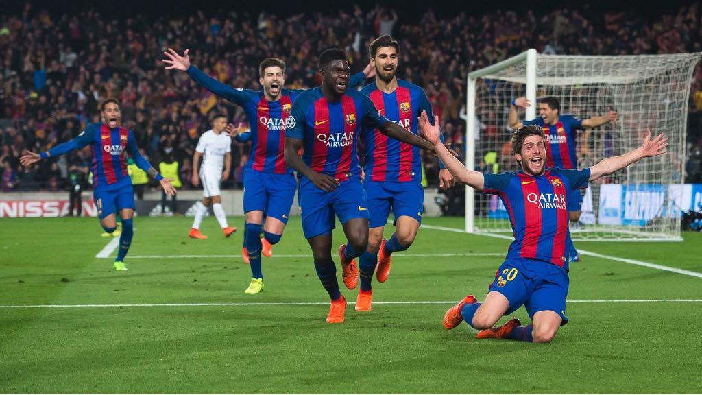 Barcelona remontada Messi PSG 3 Los Fundamentos Colectivos Universales MBP School of coaches