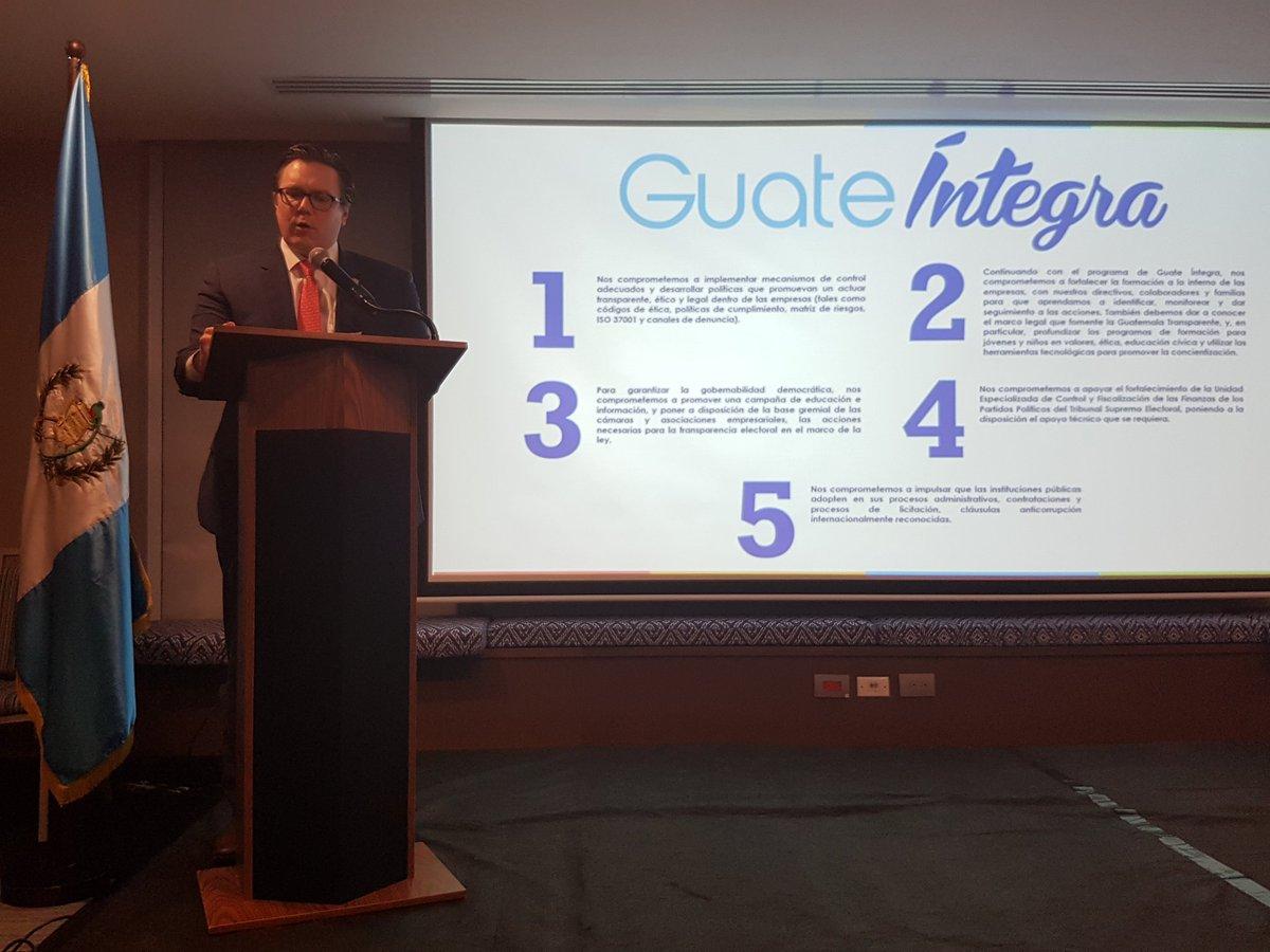 Empresarios ratifican compromisos de transparencia » República GT ...
