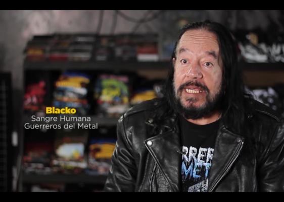Blacko, guerrero del metal, documental, heavy metal, guatemala