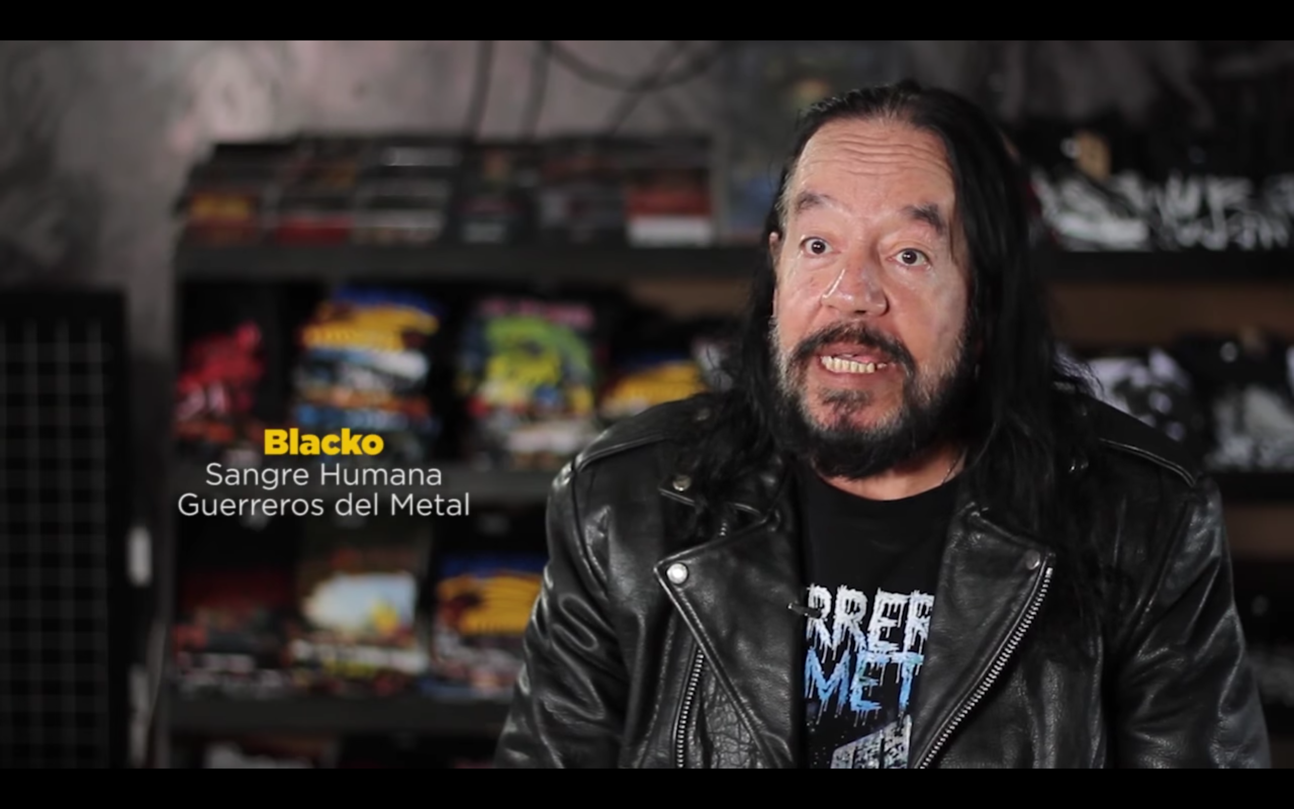 Blacko, guerrero del metal, documental, heavy metal, guatemala