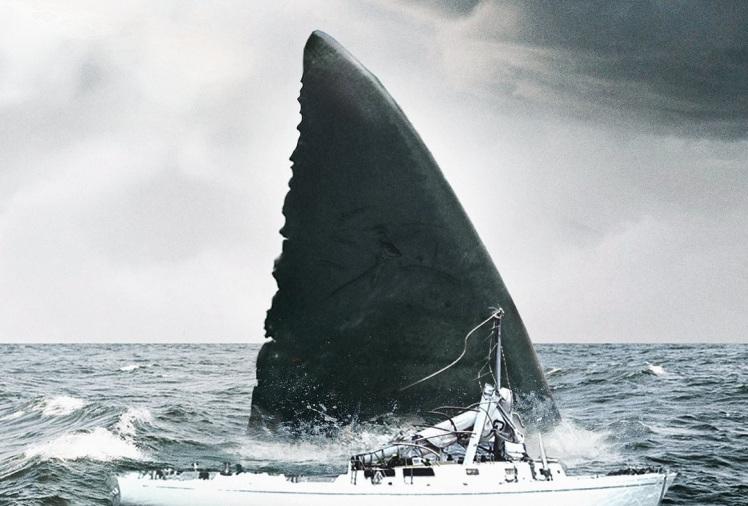 the meg-2018, megalodón, tiburón, jaws, cine, trailer
