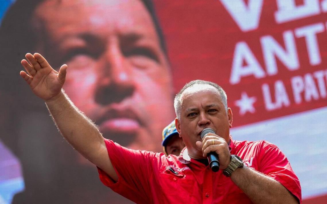Estados Unidos confisca a Diosdado Cabello 800 millones de dólares