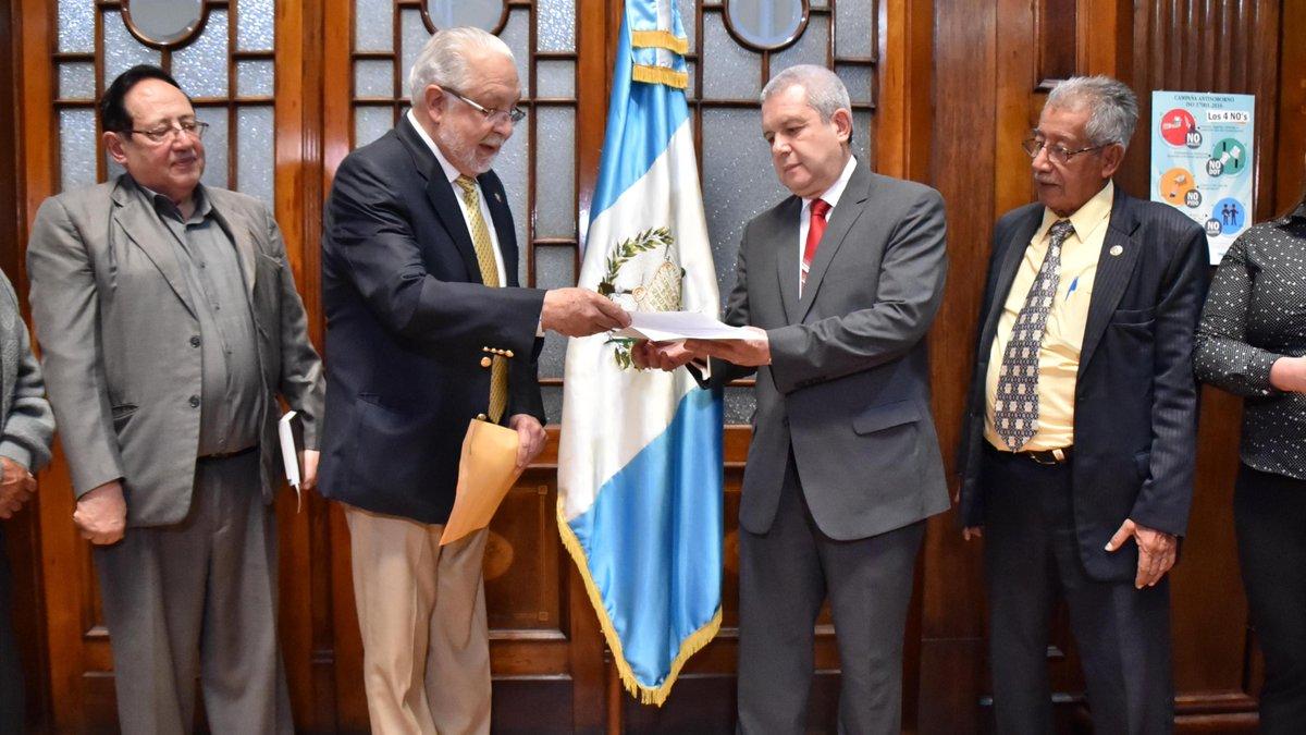 Dignatarios de la Nación de la Asamblea Nacional Constituyente apoyan  decisiones de Jimmy Morales | Noticias de Guatemala