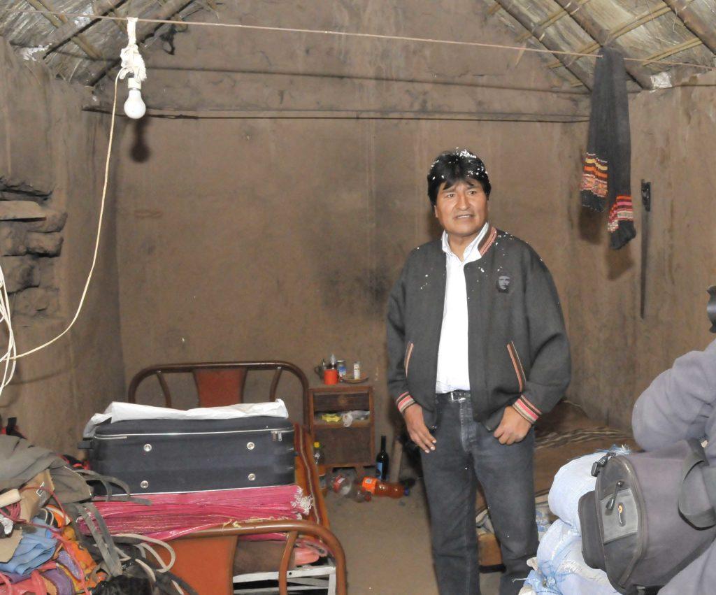 Evo Morales reconoció que es