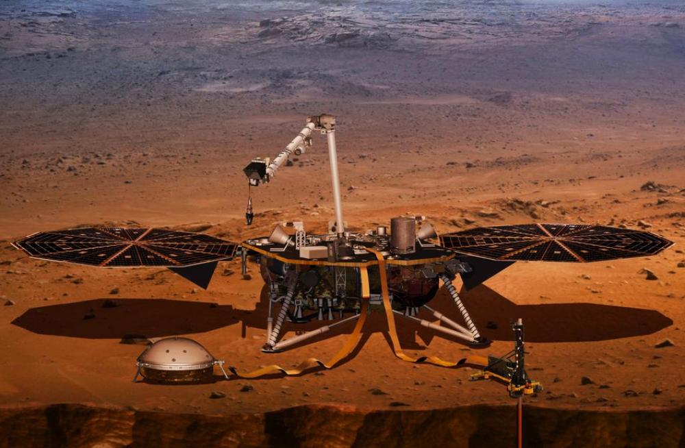 Siga en directo el aterrizaje de la Sonda InSight en Marte