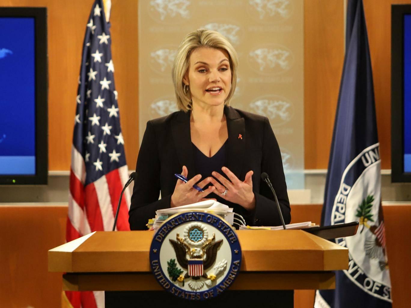 Heather Nauert, presentadora de la Fox que Trump ha convertido en embajadora  ante la ONU