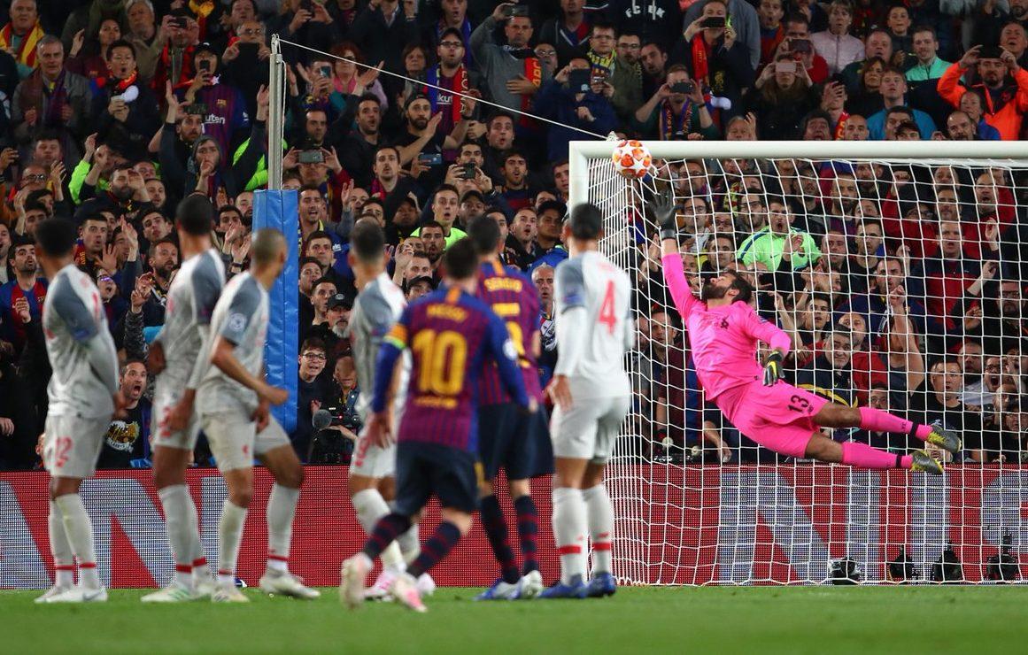 """7fea7447ecfb Lionel Messi llegó a los 600 goles con el FC Barcelona, con una joya, que  selló la victoria por 3-0 contra el Liverpool, en la semifinal de la  """"Champions"""", ..."""