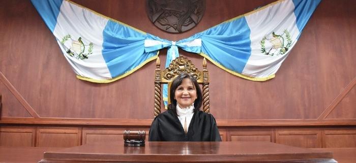 Magistrada Gloria Porras